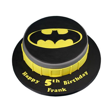 Batman Symbol Cake 2kg Eggless