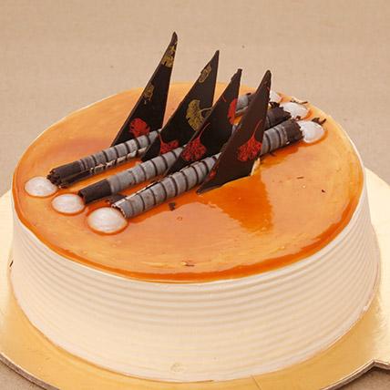 Blonde Caramel Cake Half KG