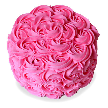 Brimming With Roses Cake 4kg Eggless Black Forest
