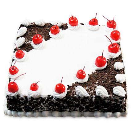 Cherry Blackforest Cake 2kg Eggless