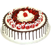 Cherry Blackforest Cake - Five Star Bakery 1kg Eggless