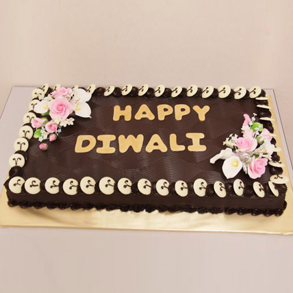 Chocolate Frenzy Diwali Cake 3kg Eggless