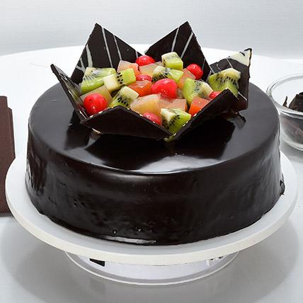Chocolate Fruit Gateau 1kg