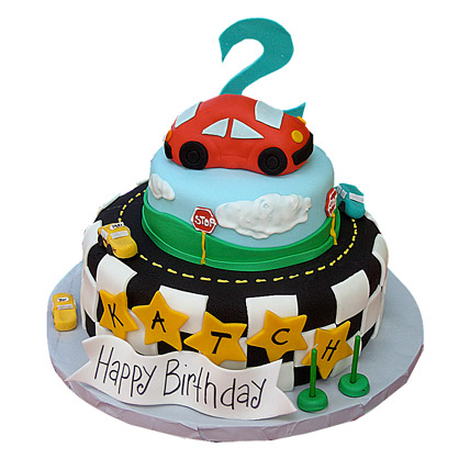 Coolest Car Cake 4kg Eggless
