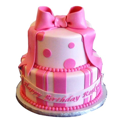 Cute Pink Gift Cake 4kg