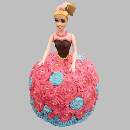 Dashing Barbie Cake Vanilla 2kg