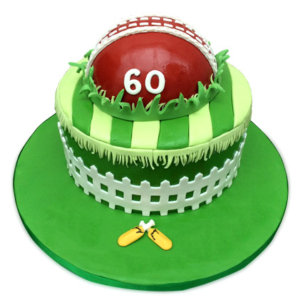 Designer Cricket Fever Cake 3kg Pineapple