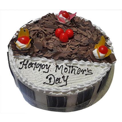 Eggless Black Forest Special Cake For Mom half kg