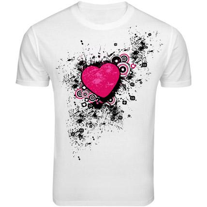 Heart Throbbing T shirt Large