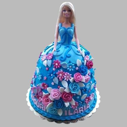 Heavenly Barbie Cake 3kg Eggless
