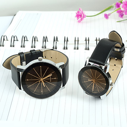 Leather Watch Set