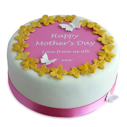 Letters to Mom Photo cake 3kg Eggless