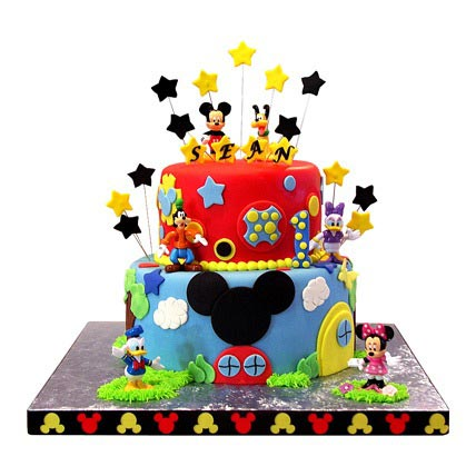Mickey Mouse Clubhouse Cake 5kg