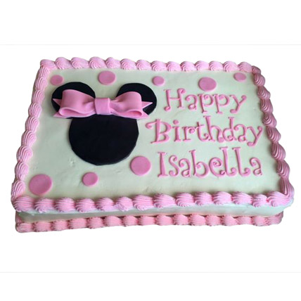 Minnie Mouse Yummy Cake 1Kg Chocolate