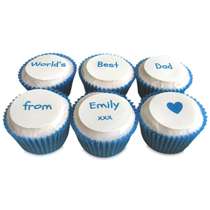 Personalized Message Cupcakes 6