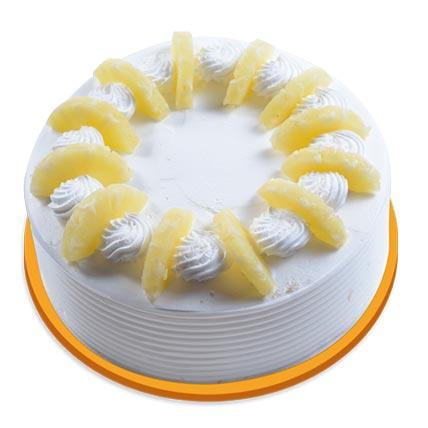 Pineapple Round Cake 2kg