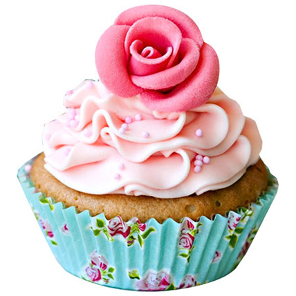 Pink Rose Cupcakes 6 by FNP