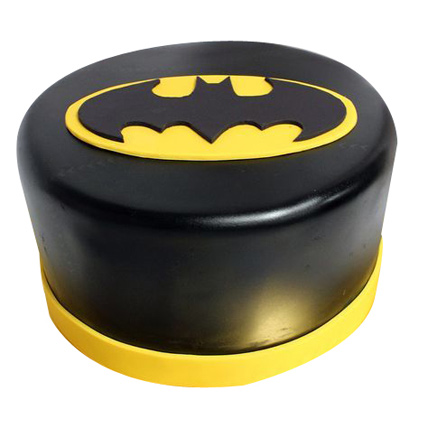 Shining Batman Cream Cake 1kg