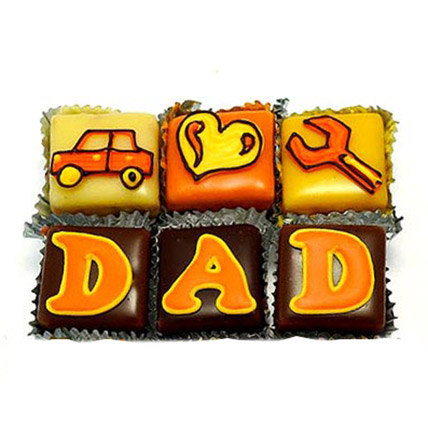 Special DAD Cupcakes 24 Eggless