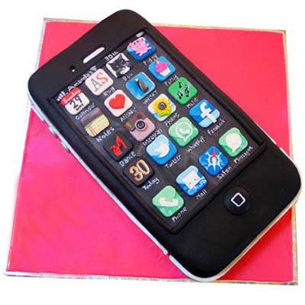 Techy iPhone Cake 3kg Eggless