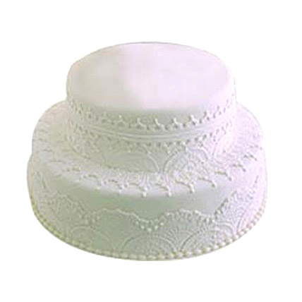 Two Tier Cake by FNP