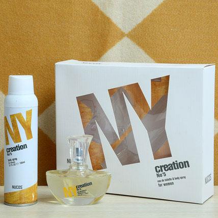 York Nucos Creation No 5 Gift Set
