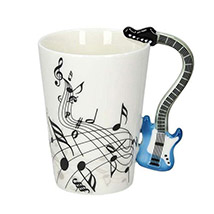 Blue Guitar Coffee Mug: Love N Romance Gifts