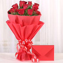 Bouquet N Greeting Card: Send Flower Bouquets