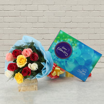 Celebrations with Roses: Chocolate Gifts in India