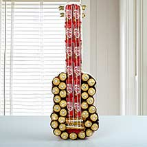 Chocolate Guitar: Chocolate Gifts in India