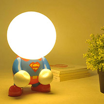 Creative Superman Lamp: Gifts to Delhi