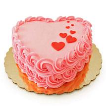 Floating Hearts Cake: Send Designer Cakes