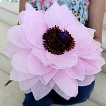 Giant Paper Flower: Artificial Flowers