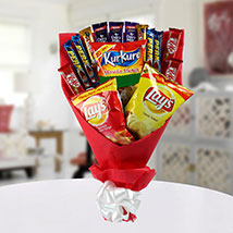 High on Snack Bouquet: Chocolates Shopping India