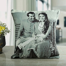 Made With Love Personalised Cushion: Personalised Gifts