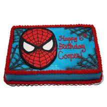 Mask of Spiderman Cake: Send Designer Cakes