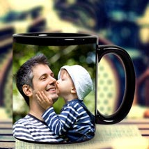 Personalized Black Mug: Personalised Gifts