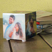Personalized Memories Lamp: Personalised Gifts