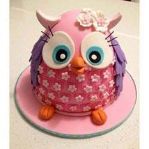 Pinki The Owl Cake: Send Designer Cakes