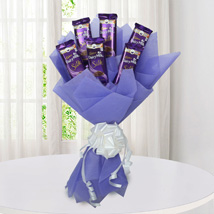 Silk Chocolate Bouquet: Chocolate Gifts in India
