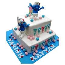 Smurfs Birthday Cake: Designer Cakes