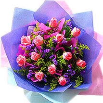 An Exotic Rose Arrangement: Valentines Day Flowers Malaysia