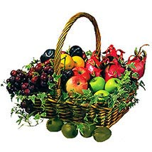 Basket Of Fresh Fruits: Send Gift Hampers to Malaysia