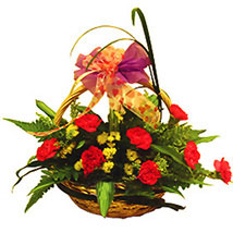 Basket Of Graceful Flowers: Send Anniversary Flowers to Malaysia
