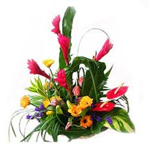 Basket of Mixed Flowers MAL: Flower Delivery in Malaysia
