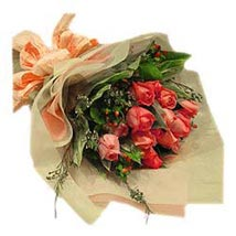 Bouquet of 12s Pink Roses MAL: Flower Delivery in Malaysia