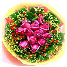 Deluxe Pink Bouquet: Flower Delivery in Malaysia