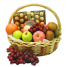 Energetic Fruit Basket: Send Gift Hampers to Malaysia