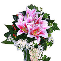 Love In Stargazer Lilies: Send Flower Bouquets to Malaysia