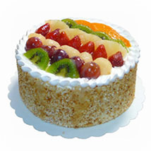 Mixed Fruits Sponge Cake: Send Anniversary Gifts to Malaysia